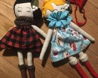 two beautiful Heirloom dolls