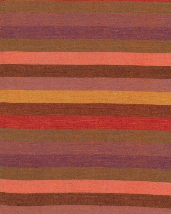 BROAD STRIPE Woven  RED wbroad.redxx by Kaffe Fassett fabric sold in 1/2 yard increments