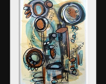 Abstract Art Original Modern Contemporary Painting