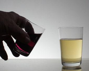 12 smoll  GLASSES: saloon, tavern 60s,