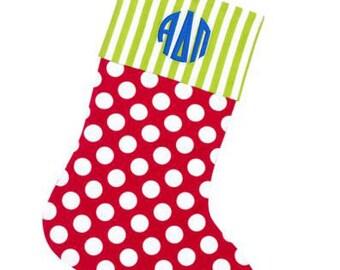 Alpha Delta Pi Christmas Stockings