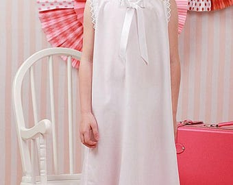 Little White Cotton Slip