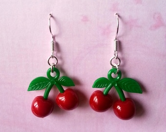 Small earrings cherry ♥ ♥