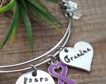 Alzheimer's Awareness - Alzheimer Bracelet - You're not just a Memory - Dementia Awareness