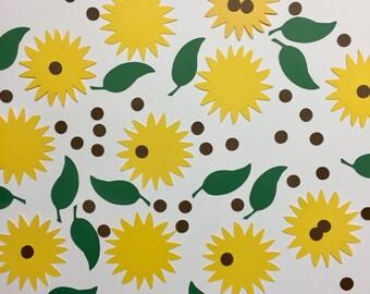 Sunflower Confetti