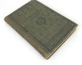 1896 Robinson Crusoe Electic Readings edition