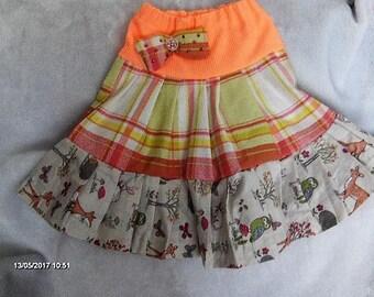 Girls layered skirt