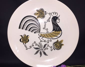 Dinner Plate - Vintage Good Morning pattern by Royal China