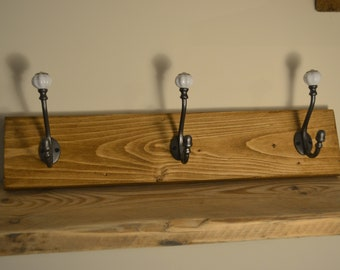 Wooden, Shabby Chic Coat Rack