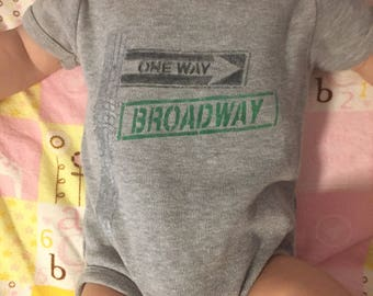 NYC Signs Baby Onesie Gift