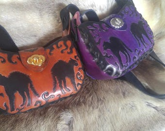 Vintage style Halloween handbag-Made to Order