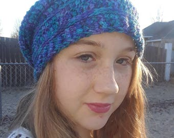 Spirit Beanie-Slouchy Hat with or Without Pompom for Men, Women, Kids