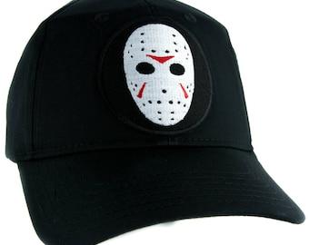 Hockey Mask Friday the 13th Hat Baseball Cap Horror Clothing Jason Voorhees - YDS-EMPA-046-CAP