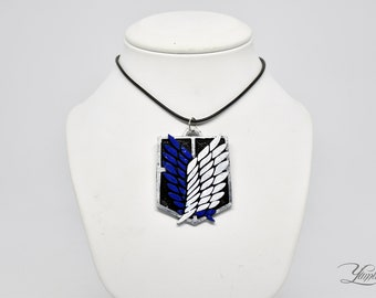 Attack on Titan inspired Scout Regiment Necklace | Survey Corps Necklace | Anime Cosplay | Senpai | Attack on Titan cosplay