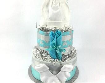Wilton Diaper Cake Kit Baby Shower Centerpiece Diaper Cake