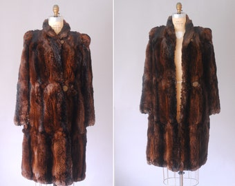 Joan rabbit fur coat | vintage 1930s coat | 1930s fur coat