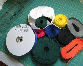 Belt webbing in lots of colors