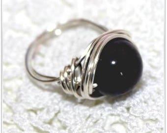 Natural grade Amethyst ring size choice