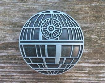 Star Wars Drawer Knobs - Death Star Cabinet Knobs - Furniture Knobs Pewter (MK157)
