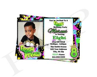 Digital Fresh Prince Invitation, Fresh Prince Birthday Party, Party Invitations, Printable Invitations