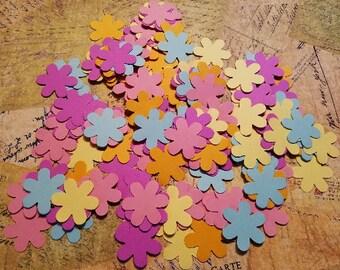 Die Punched Flowers.  #OR-5