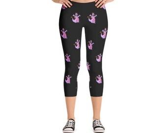 Figment Black Leggings | Disney leggings | Figment | Epcot leggings