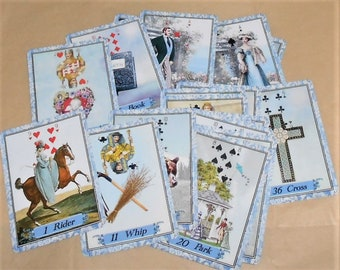 Cerulean Lenormand Fortune Telling Oracle Cards. Brand New. Self Published.
