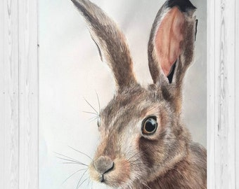 Giclee Hare Print