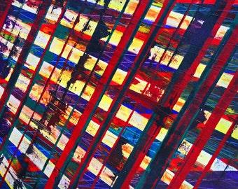 "Title: ""Gravity Field"" by Paul Harrison. Original Oil Painting 2007"