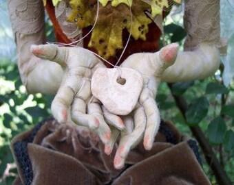 Online E-class Class Art Doll Hands Tutorial Workshop Needle Sculpting & Detailing Cloth Doll Hands