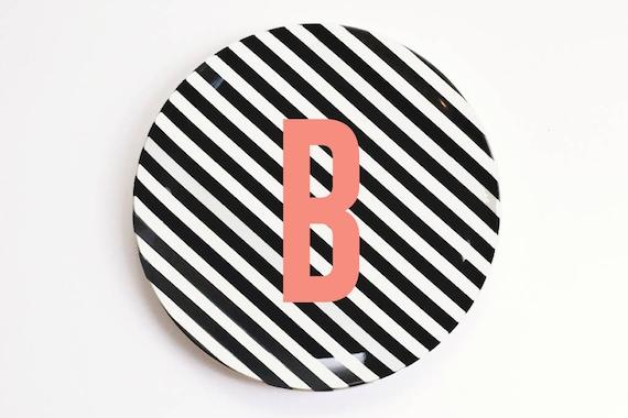 Like this item?  sc 1 st  Etsy & Monogram Plates Kids Personalized Melamine Plate Custom