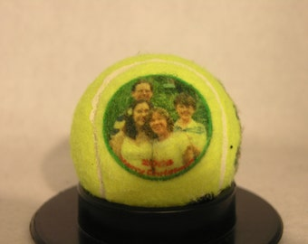 Personalized Photo Tennis Balls - Create YOUR personal fan balls - Fresh Can of 3 PENN Balls