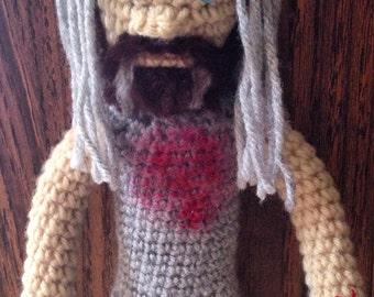 OOAK crochet Otis doll
