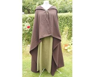 Viking Cloak Rectangular Cape Celtic medieval Romans