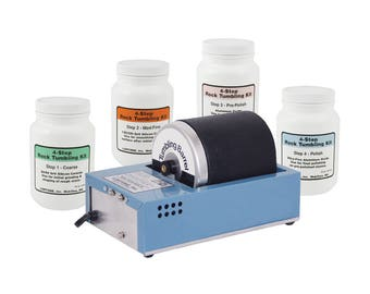 Lortone 3A Rotary Rock Tumbler kit with Polishing Compound - KIT-1425