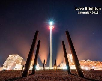 Love Brighton Calendar 2018