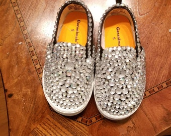Crystal bedazzled Toddler shoe