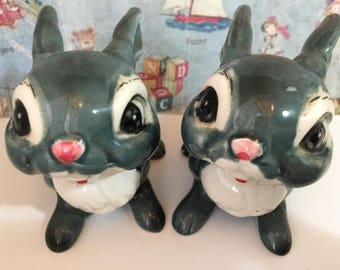 FREE WORLDWIDE SHIPPING Very Rare Disney's Thumper and Friend Collectible Kreiss and Company Figurines or Cake Toppers