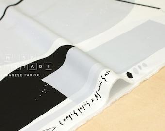 Japanese Fabric Kokka Mobile - black, grey - 50cm
