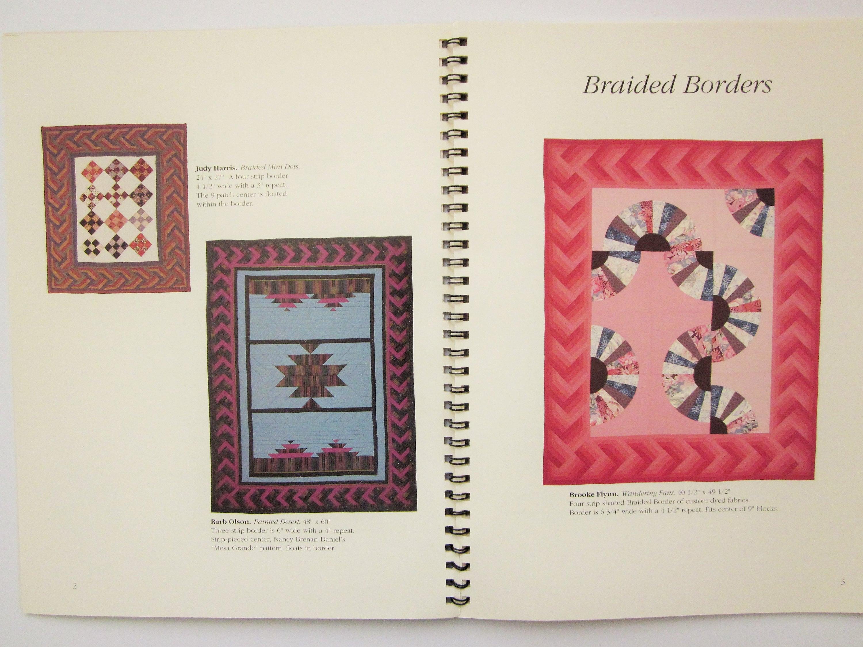 John Flynn Quilting Pattern Book Braided Borders Spiral