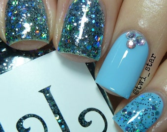 SIlvermist from the Fairy Dust Collection by Lucky Lacquer, 5-free Nail Lacquer