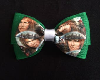 Labyrinth hair bow, David Bowie hair bow, labyrinth, David bowie, labyrinth movie, goblin king, goblin king hair bow, the labyrinth