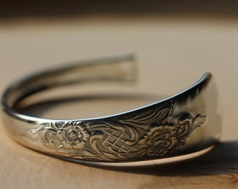 Sterling Silver Spoon Cuff