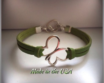 Butterfly bracelet Butterfly Jewelry Charm bracelet Friendship bracelet Best Friend bracelet Bridesmaid bracelet BFF bracelet