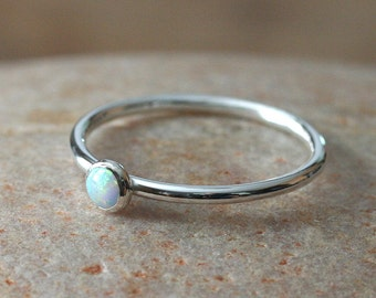 watches ring rings opal jewelry silver product bling inlaid white synthetic october birthstone