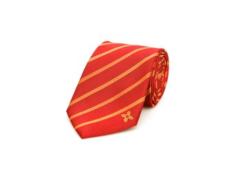 New Mexico Tie - Inspired by the New Mexico Flag with Personalized Tag. Albuquerque. LDS Missionary. Husband Gift, Missionary Gift.