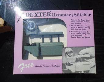 Dexter Automatic Hemmer and Stitcher