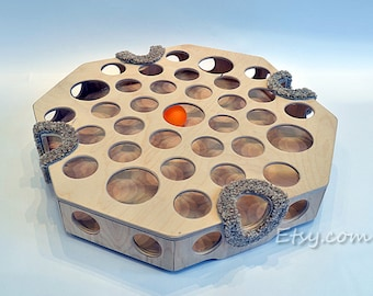 Wooden toy for cats