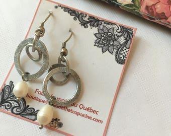 Earrings , stainless steel, stainless, Artistochats