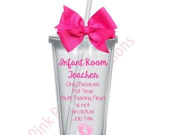 Daycare teacher gift etsy infant room teacher gift daycare teacher gift daycare worker negle Choice Image